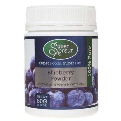 Blueberry Powder 80g - SUPER SPROUT