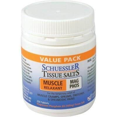 TISSUE SALTS Mag Phos Tabs 250 - MARTIN & PLEASANCE