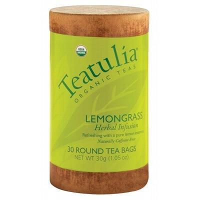 Lemongrass Tea 30 bags - TEATULIA