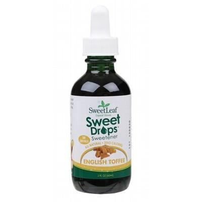 Toffee Liquid Stevia 60ml - SWEET LEAF