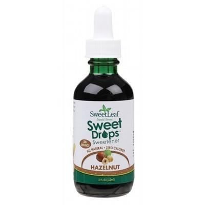 Hazelnut Liquid Stevia 60ml - SWEET LEAF
