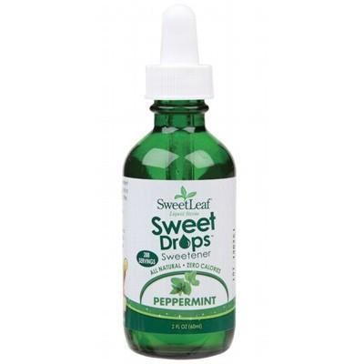 Peppermint Liquid Stevia 60ml - SWEET LEAF