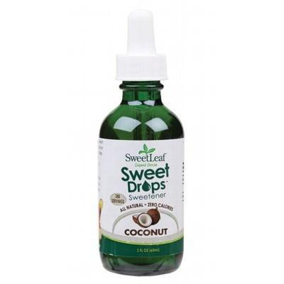 Coconut Liquid Stevia 60ml - SWEET LEAF