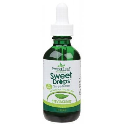 Sweet Drops (Liquid Stevia) 60ml - SWEET LEAF