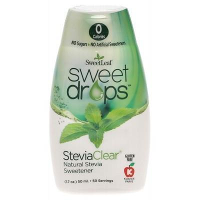 Liquid Stevia - Clear 50ml - SWEET LEAF