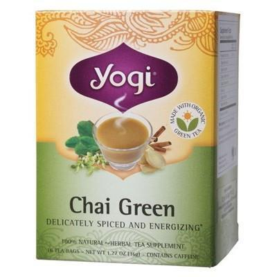 Green Decaf Tea Bags 16 bags - YOGI TEA