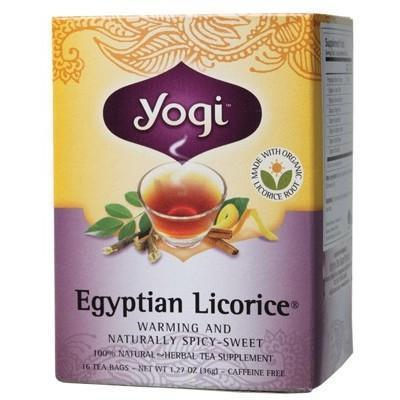 Licorice Tea Bags 16 bags - YOGI TEA