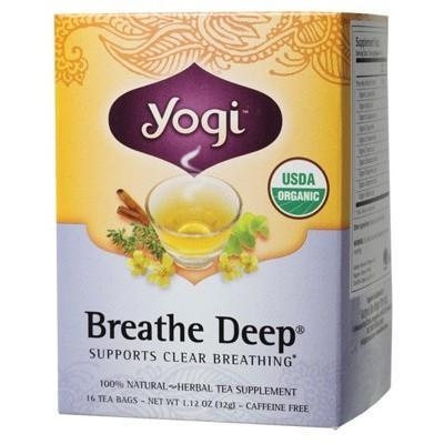 Breathe Deep Tea Bags 16 bags - YOGI TEA