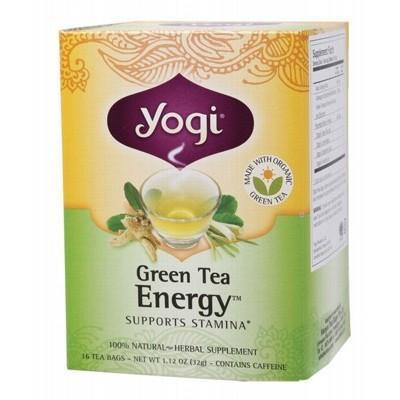 Green Tea Energy Tea Bags 16 bagsYOGI TEA - YOGI TEA