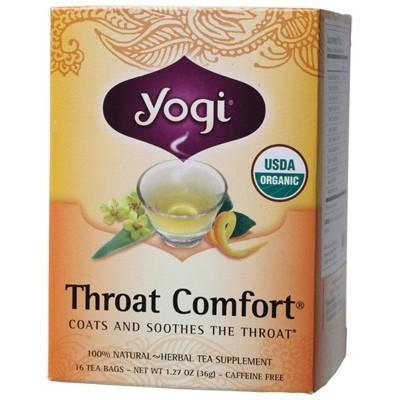 Throat Comfort Tea Bags 16 bags - YOGI TEA