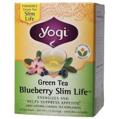 Blueberry Slim Life Tea Bags 16 bags - YOGI TEA