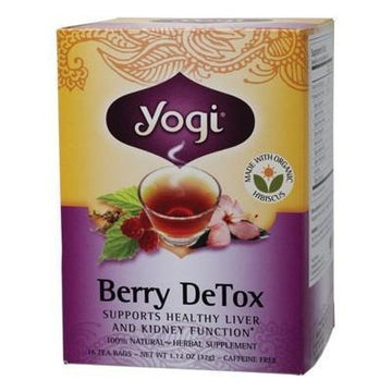 Berry DeTox Tea Bags 16 bags