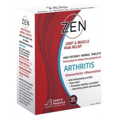 Zen Liniment Tablets 60 - MARTIN & PLEASANCE
