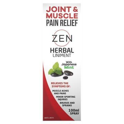 Zen Liniment Spray 100ml - MARTIN & PLEASANCE