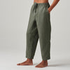 MENS LINEN PANTS KHAKI