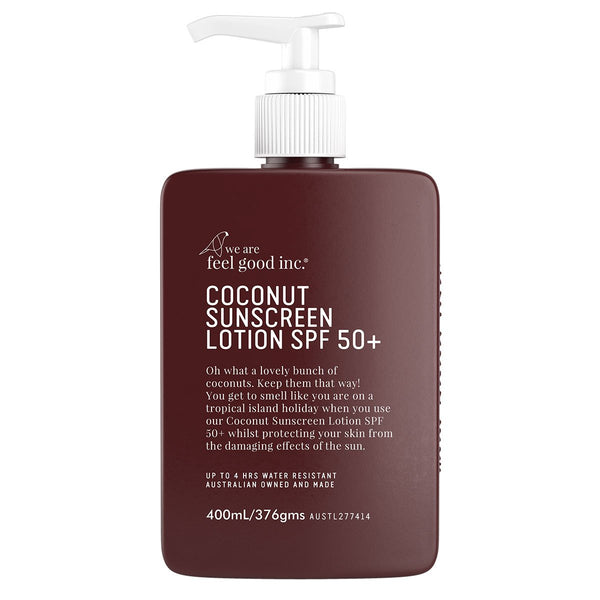 COCONUT SUNSCREEN LOTION SPF 50+ 400ML