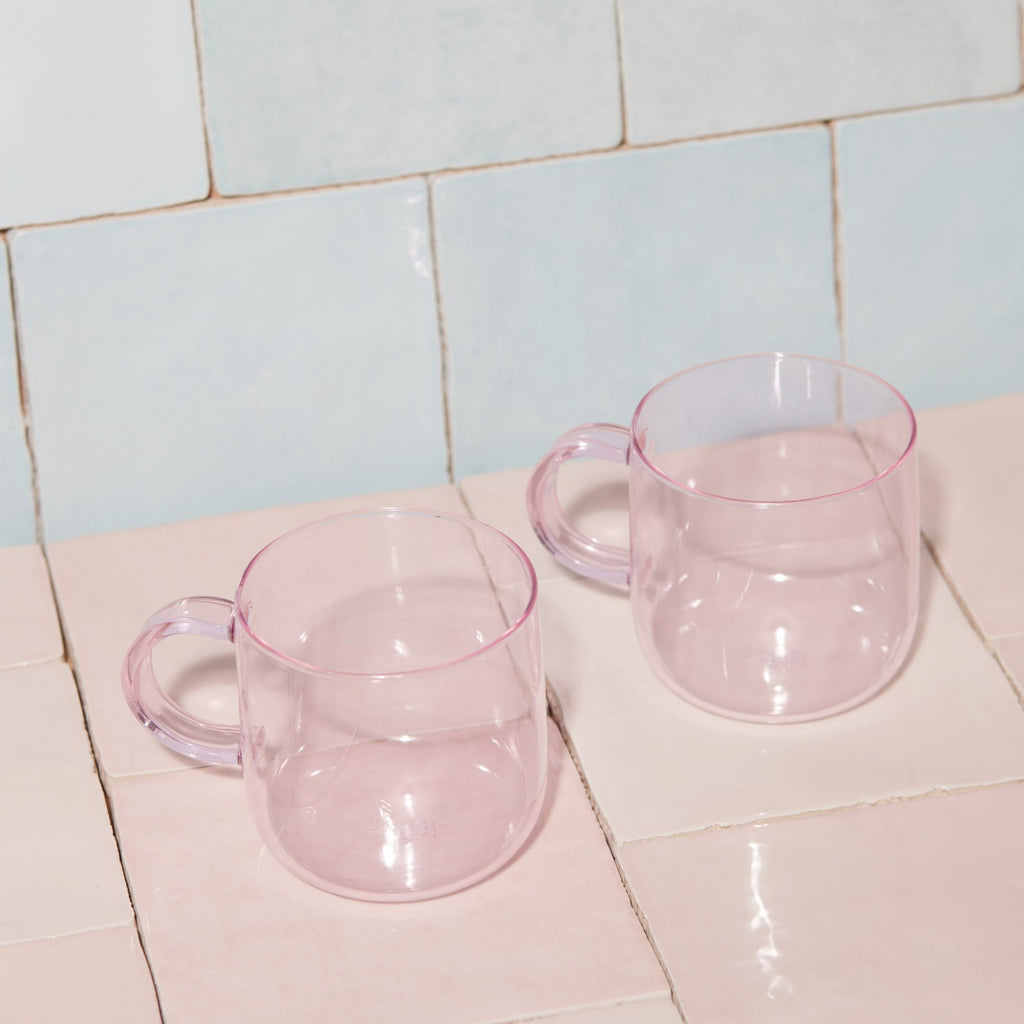 THE CORO CUP - SET OF 2- PINK