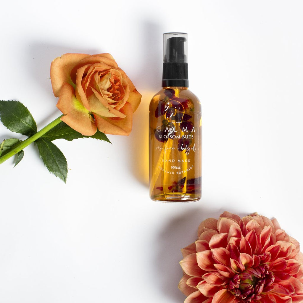 BLOSSOM BUDS ROSE FACE AND BODY OIL 100ML