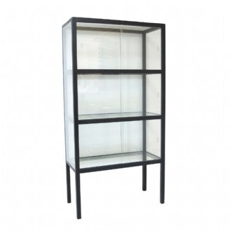 HK LIVING - SHOWCASE CABINET BLACK