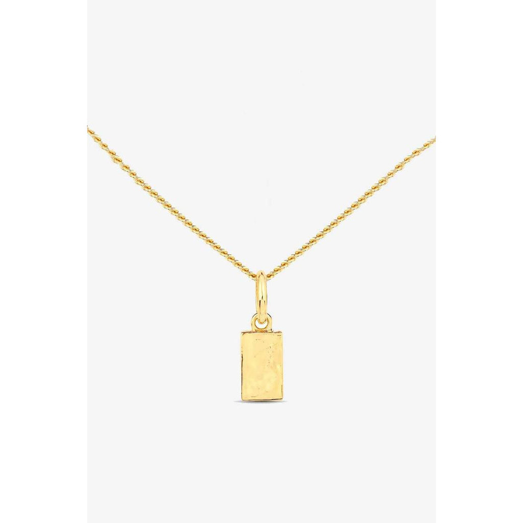 INGOT CHAIN NECKLACE GOLD