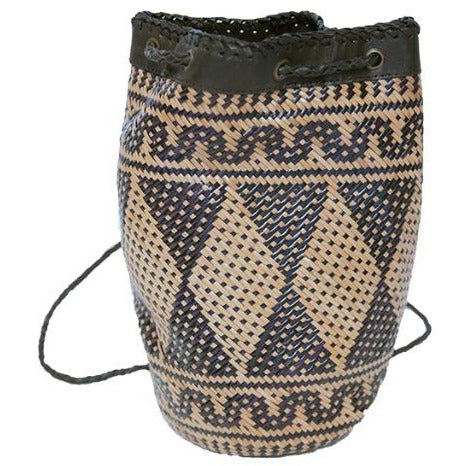 ST BARTS - AZTEC BACKPACK LEATHER HANDLES