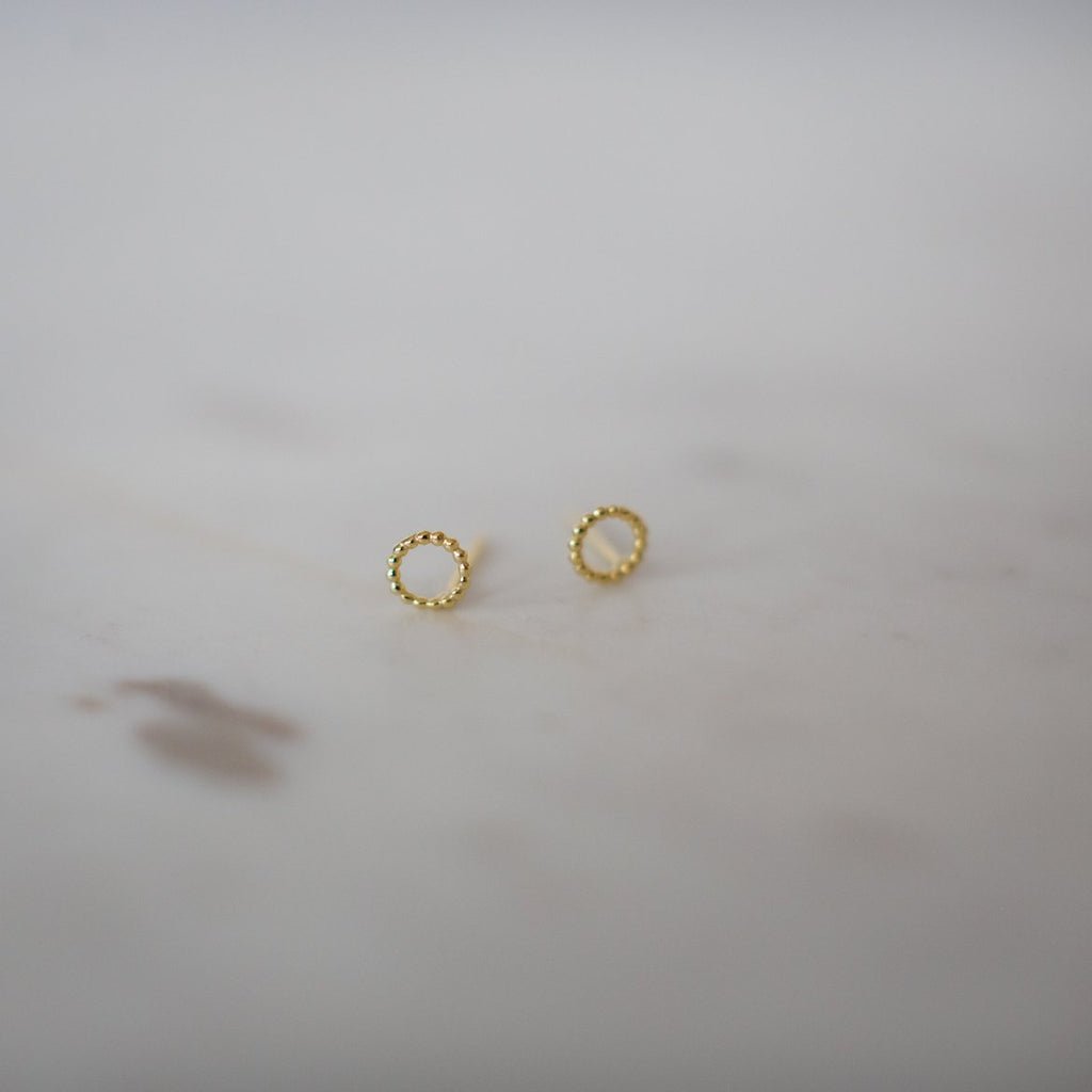 DOTTY OH STUDS - GOLD