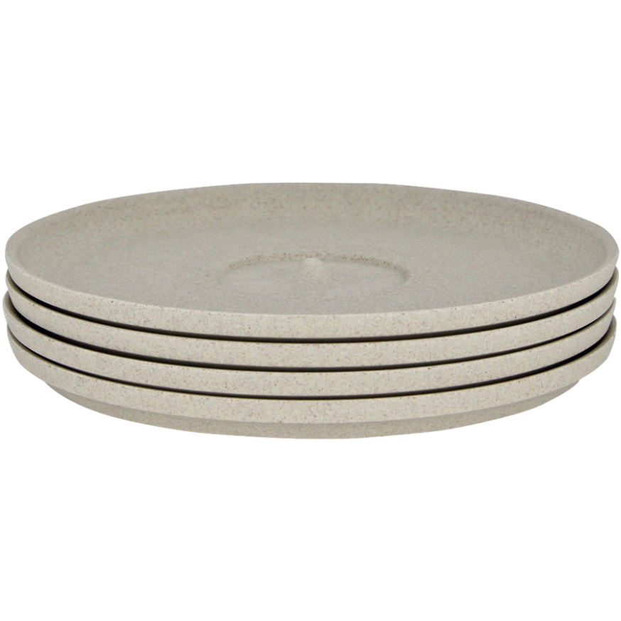 HUSKEE SAUCER - 4 PACK NATURAL