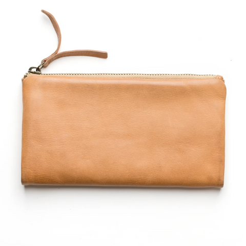 CAPRI WALLET LARGE - NATURAL