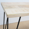 LOFT FURNITURE - RUSTIC DINING TABLE 150CM W/ HAIRPIN LEGS