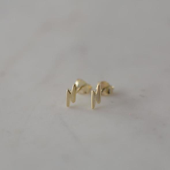 FLASHY STUDS GOLD