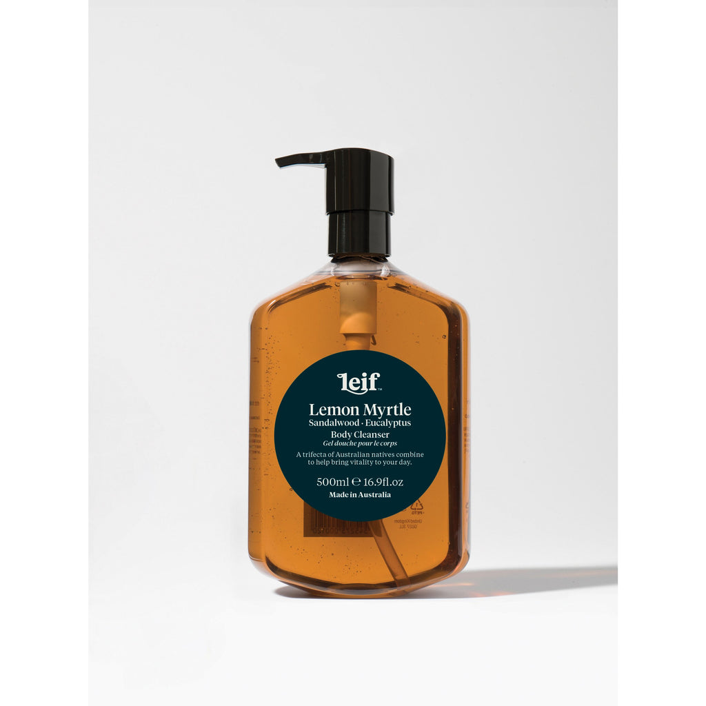 LEMON MYRTLE, SADALWOOD & EUCALYPTUS BODY CLEANSER 500ML