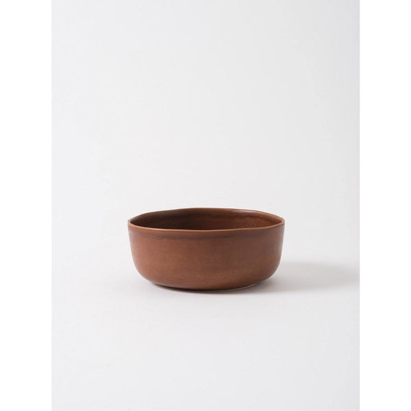 MILU SERVING BOWL LARGE - EGGPLANT