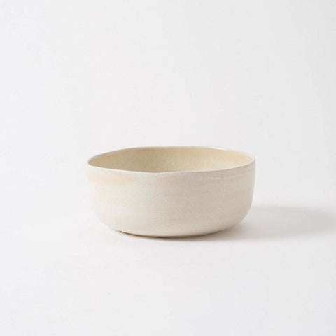 MILU SERVING BOWL LARGE - OFF WHITE