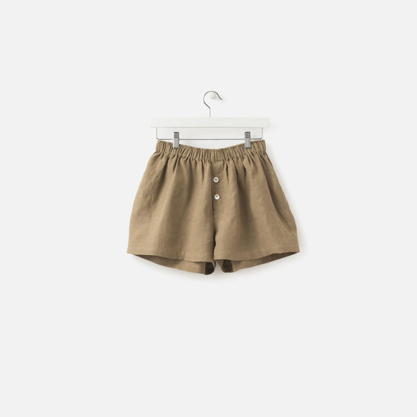LINEN SHORTS PICKLE
