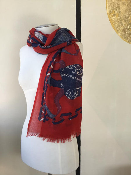 Inouitoosh | Perfecto Red Scarf