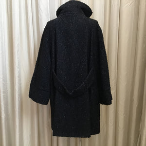 Simple Bell Sleeve Coat
