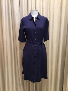 Patrizia | Navy Shirt Dress