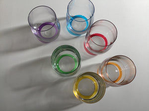Glasses | Short Coloured Glasses 9cm