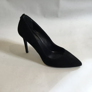 Black Suede High Heels