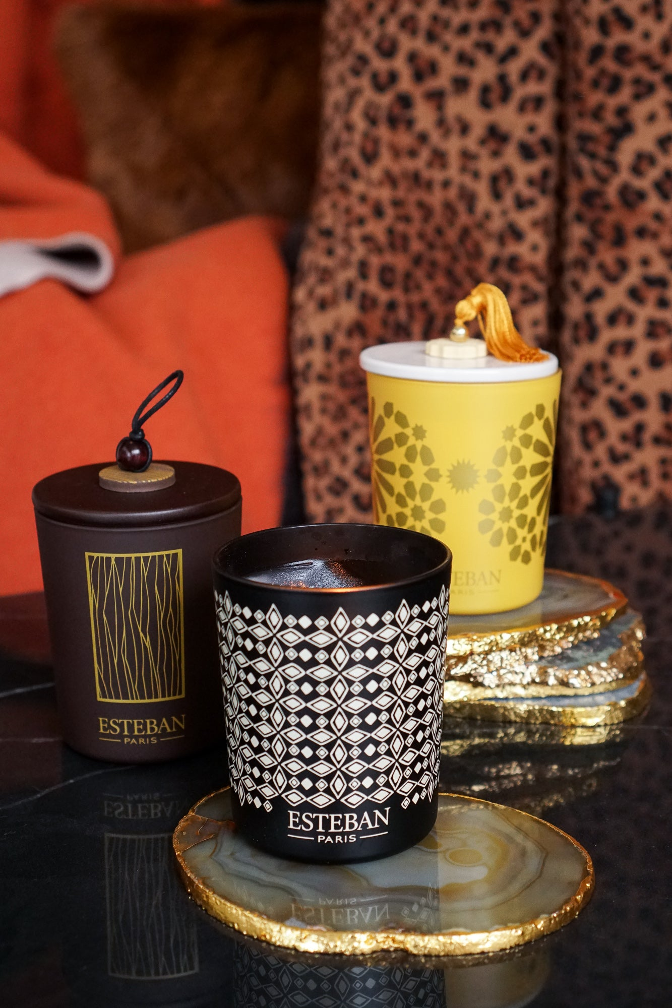 Esteban Paris | Teck & Tonka Candle