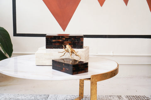 Table | Coffee Table Gold & Marble