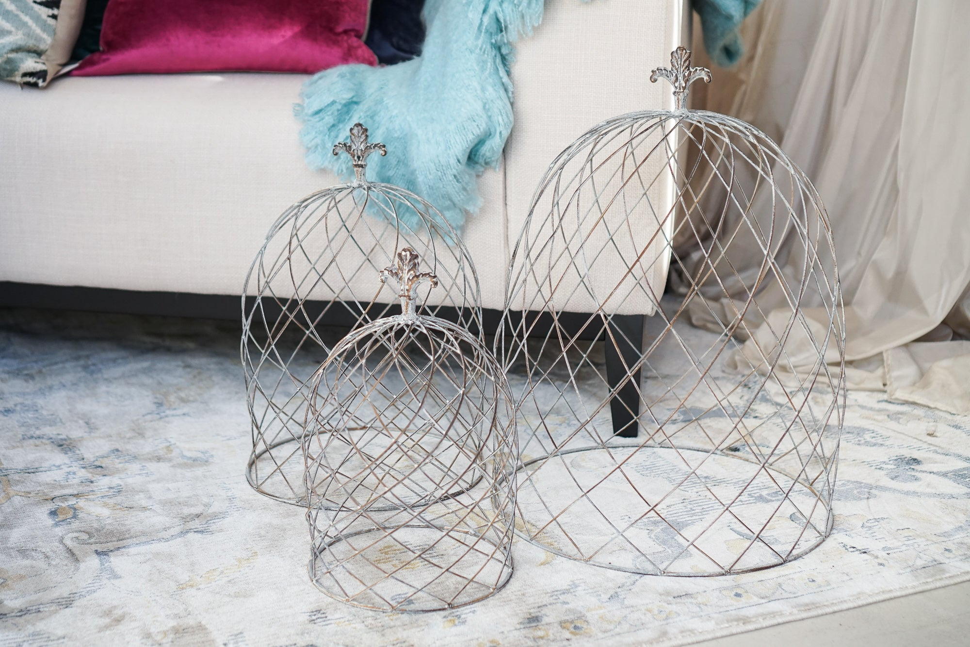 Cloche | Wire Dome Large