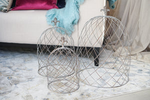 Cloche | Wire Dome Medium