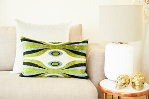 Silk Velvet Cushion, The Scream |