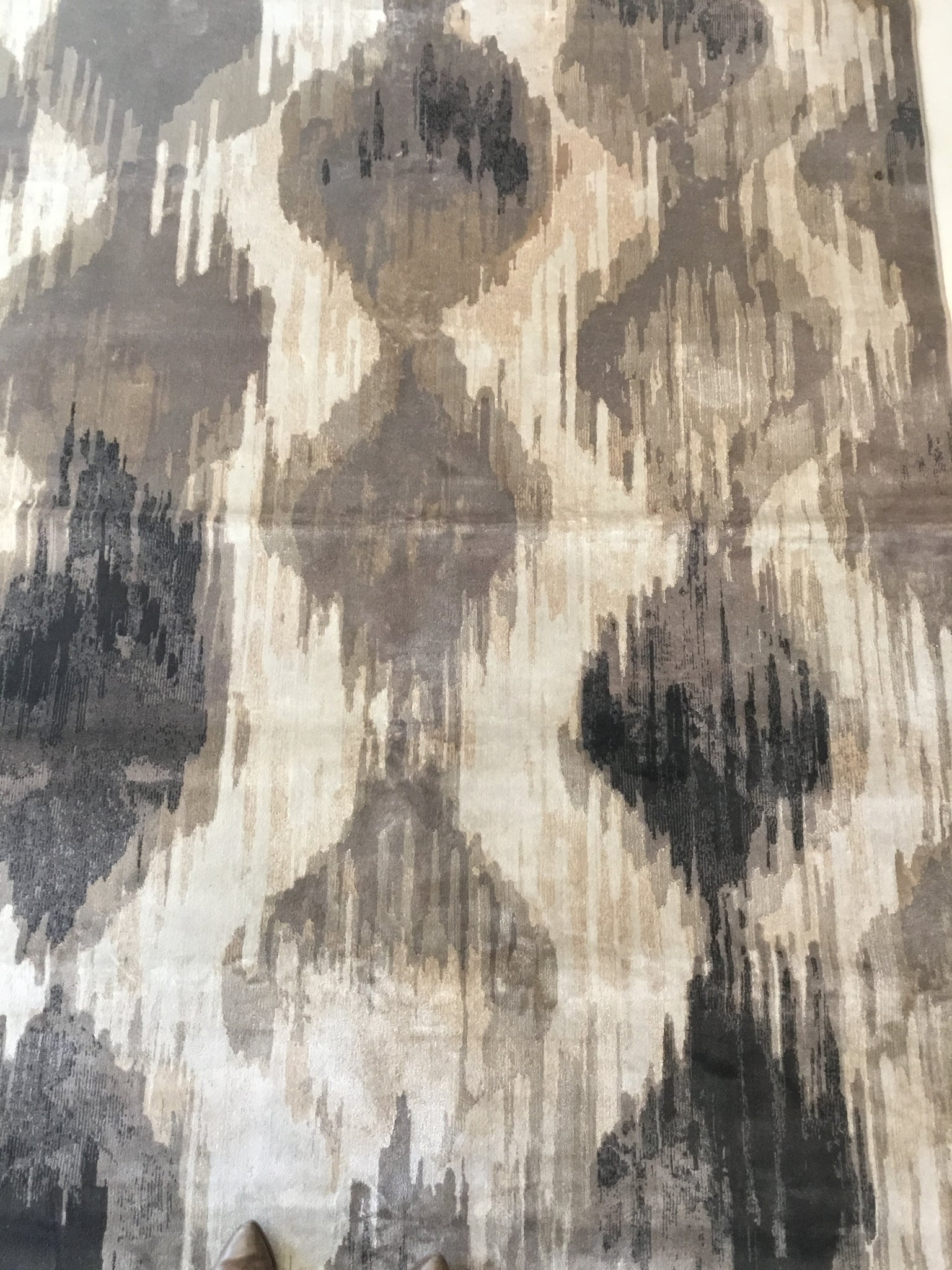 Rug | Brown & Gold I Kat Design