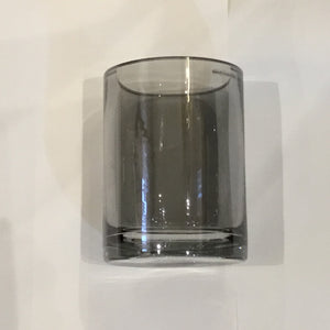 Glassware | Vase Black 14Dia 20Hight