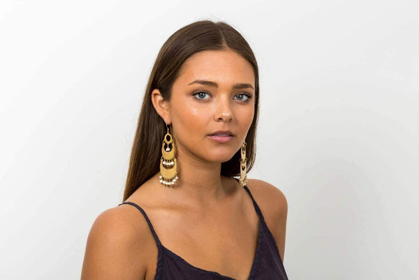Klaylife | Shaka Earrings Blush