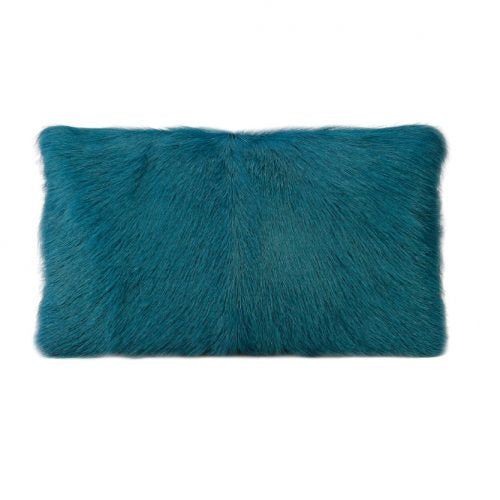Fur | Peacock Goat Cushion