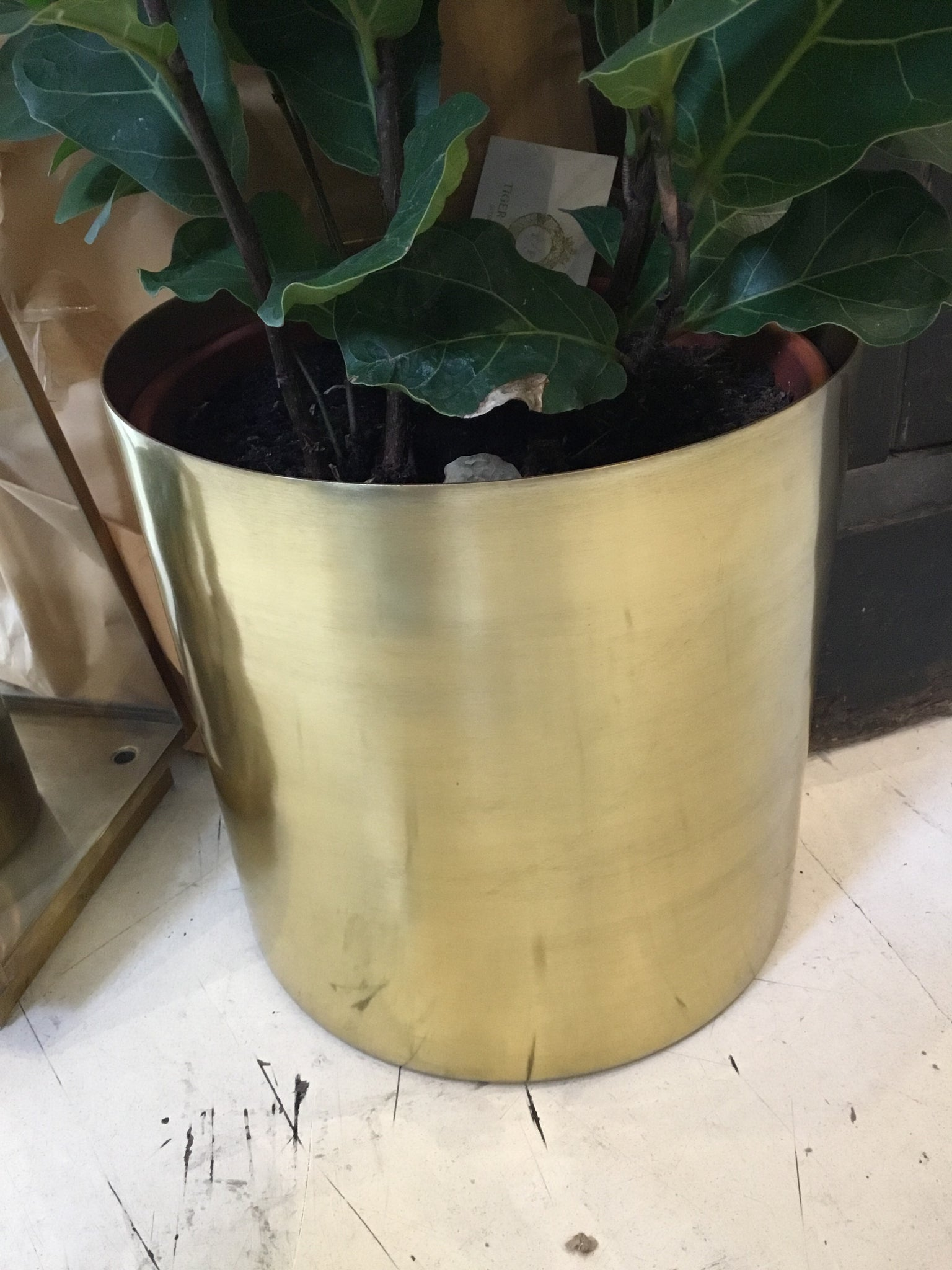 Brass | Pot 190mm