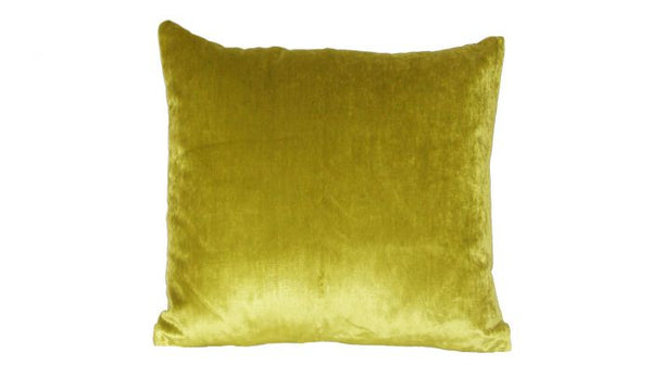 Iosis Cushion | Anis Velvet 45x45